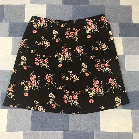 19e25f327 Express Dresses & Skirts - Vintage 90s Express Floral Mini Skirt